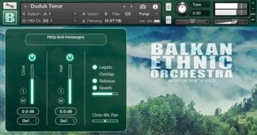 Strezov Sampling Releases BALKAN Ethnic Orchestra Duduk Freebie