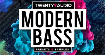 Free Modern Bass Presets & Samples Released By TWENTY9Audio