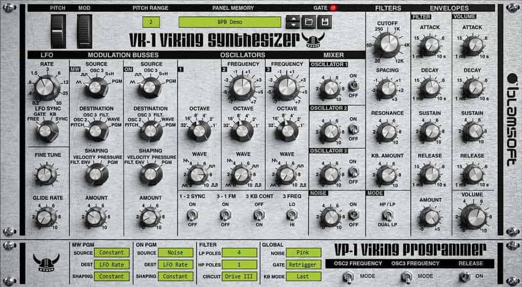 VK-1 Viking Synthesizer