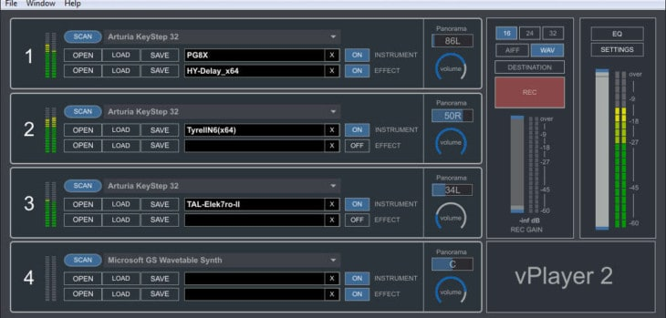 Digital Brain Instruments Releases Free vPlayer 2 VST/AU Host