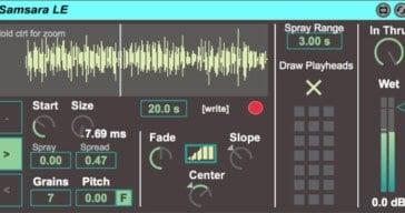 Isotonik Studios Releases Free Samsara LE Granular Looper (M4L)