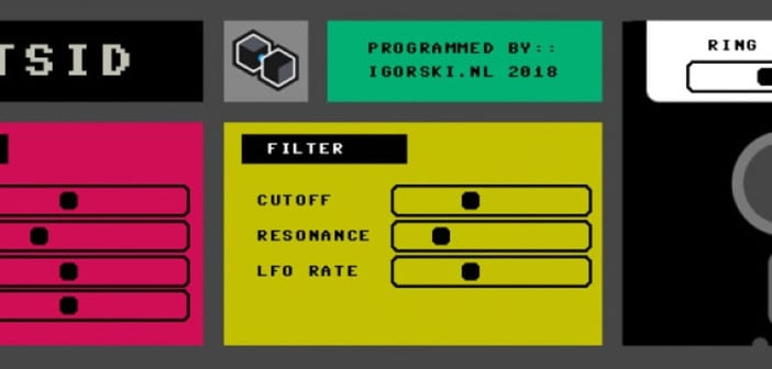 VSTSID Is A FREE Commodore 64 Synthesizer For PC & Mac