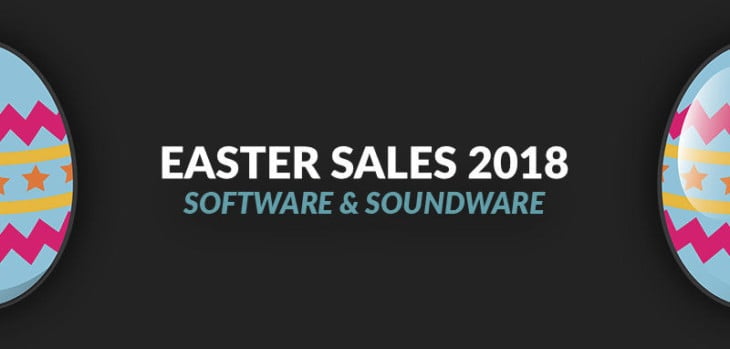 Easter Sales For Music Producers 2018 Edition