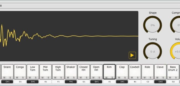 Sitala Is a Free Drum Sampler VST/AU Plugin (Alpha Version)