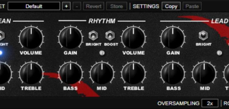 Free NRR-1 Guitar Amplifier VST/AU Plugin Updated