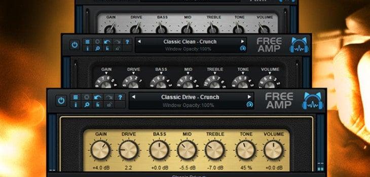 Blue Cat's Free Amp Guitar Amplifier VST/AU Plugin Released