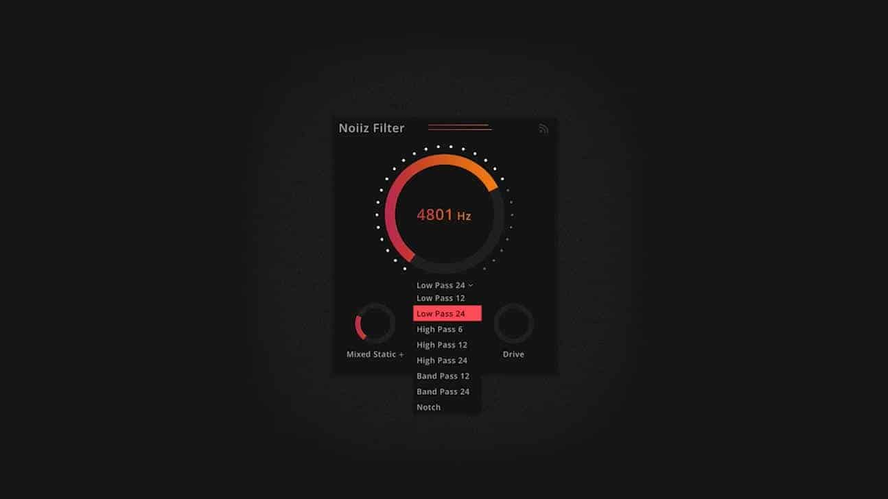 Noiiz Filter Is A FREE Noise Generator VST/AU Plugin For