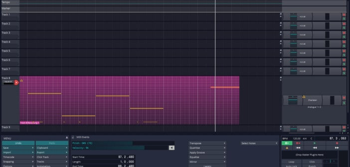 Tracktion T7 Digital Audio Workstation Is Now FREE!