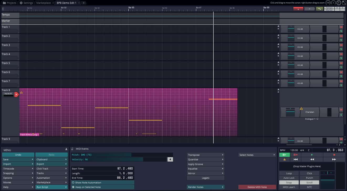 Tracktion T7 Digital Audio Workstation Is Now FREE! - Bedroom