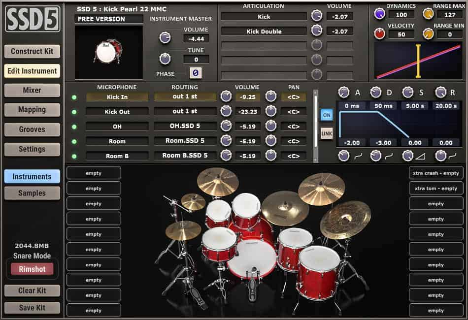 drum set software for pc free download