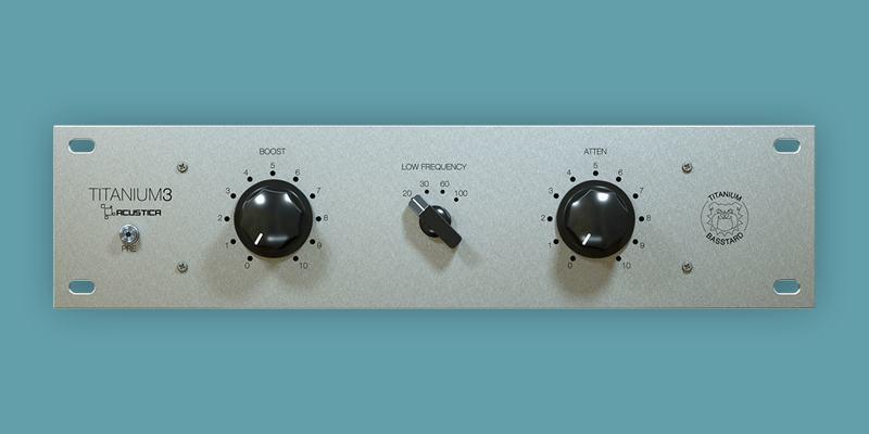 Acustica Audio Releases Free BASSTARD Equalizer VST/AU Plugin