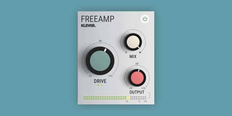 Klevgränd Releases FreeAMP Tape & Tube Saturation VST/AU Plugin