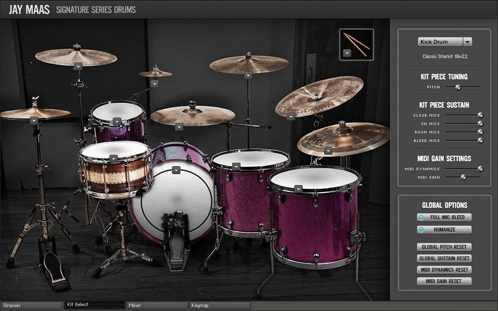 FREE Jay Maas Signature Series Drums LE Released (Kontakt