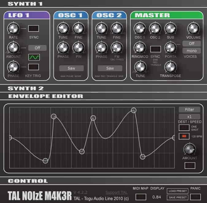 TAL-NoiseMaker de Togu Audio Line