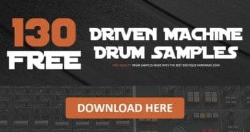 Download FREE Driven Machine Drum Samples