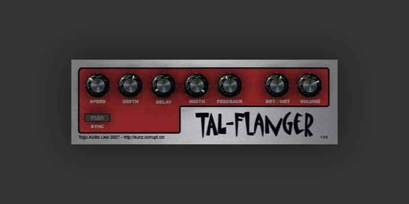 TAL-Flanger - Free Flanger VST Plugins