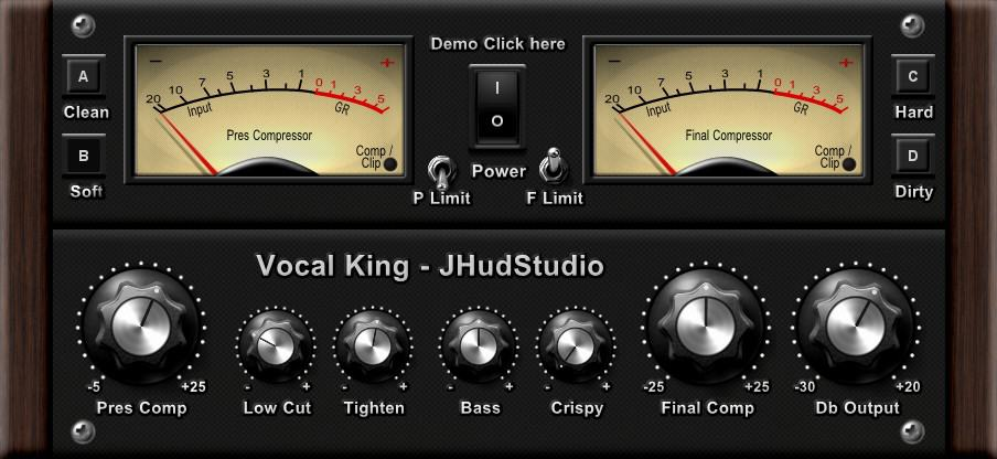 Vocal King Pro VST Plugin By JHudStudio Is Now FREE ($29 Value)