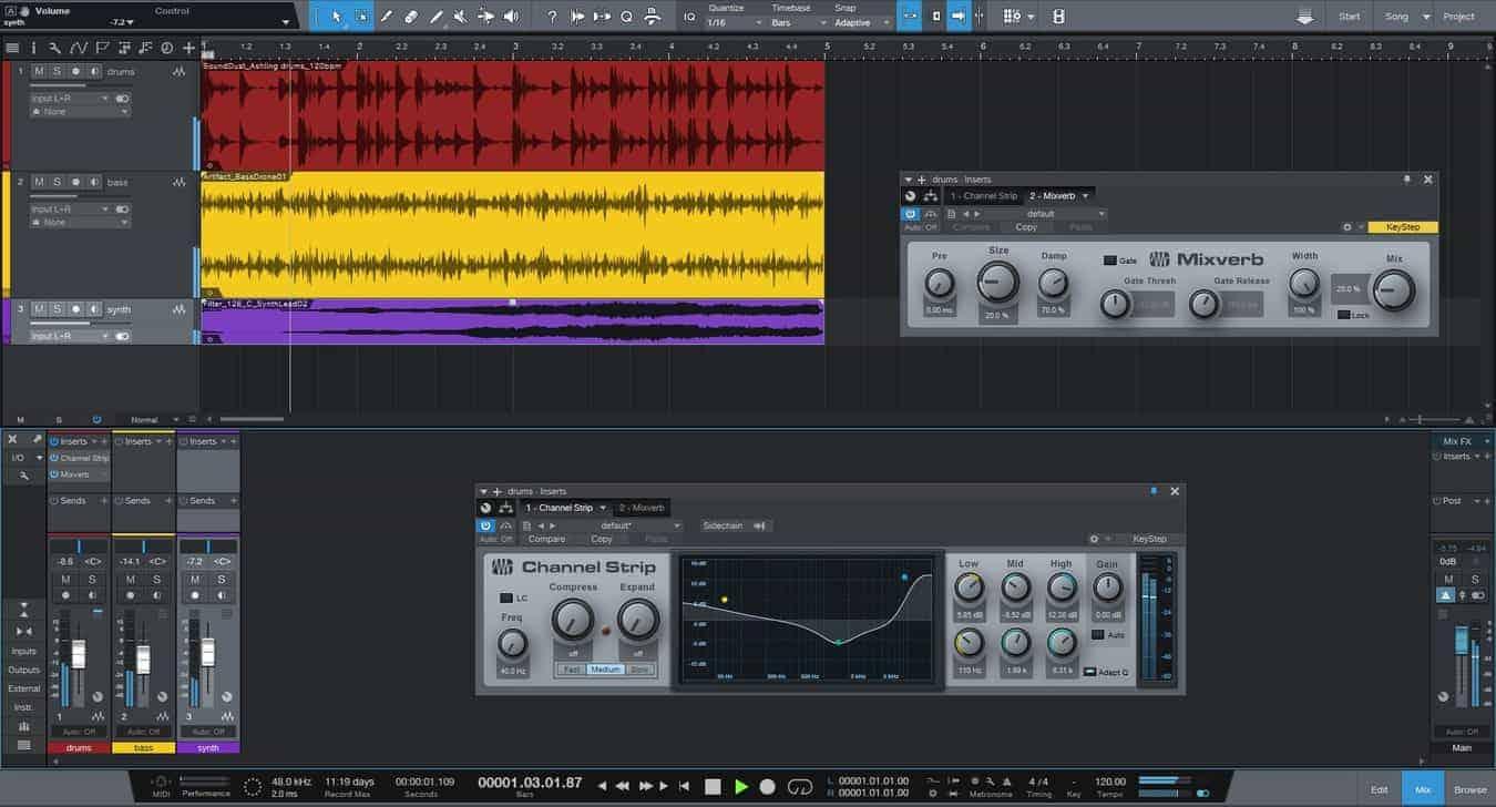 Software gratuito de producción musical 4