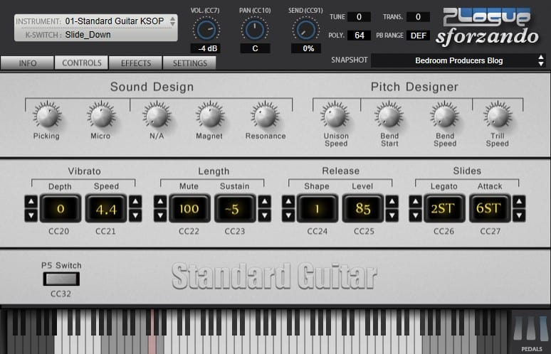 Standard Guitar by Unreal Instruments