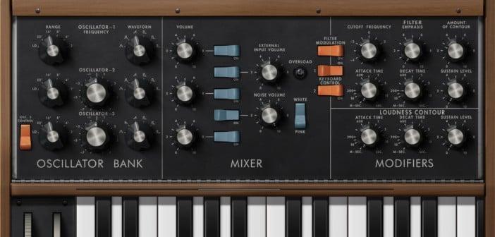 Minimoog Model D Synthesizer by Moog