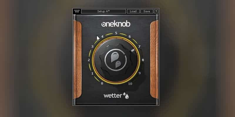 OneKnob Wetter by Waves