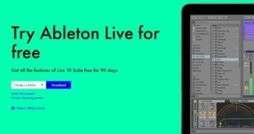 Ableton Live Suite FREE