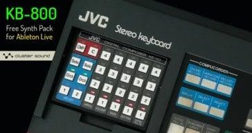 JVC KB-800 by Cluster Sound