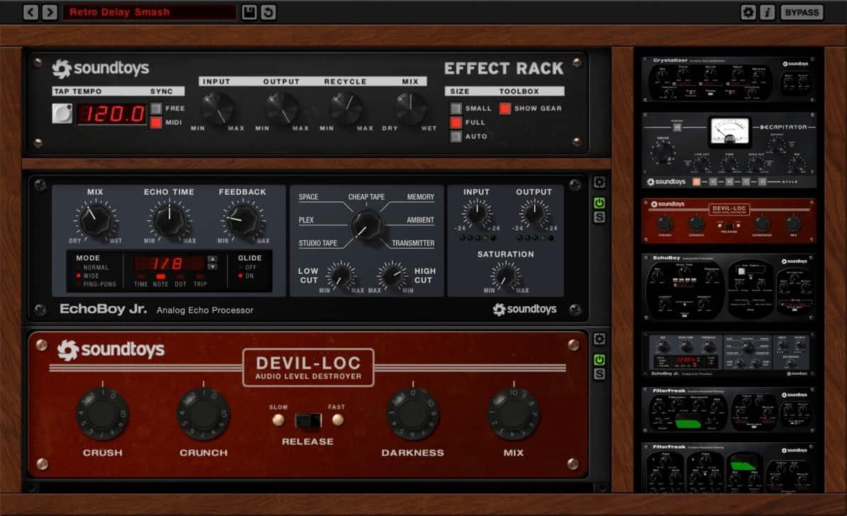 Effect Rack by Soundtoys