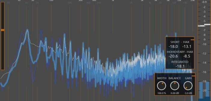 LVC-Meter Is A FREE Spectrum Analyzer VST/AU Plugin