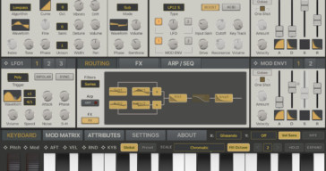 Synthmaster One iOS FREE