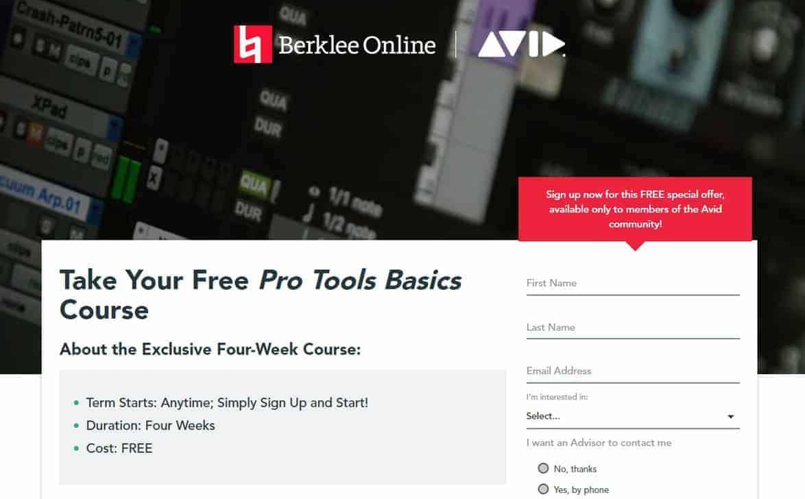 Berklee Online Courses