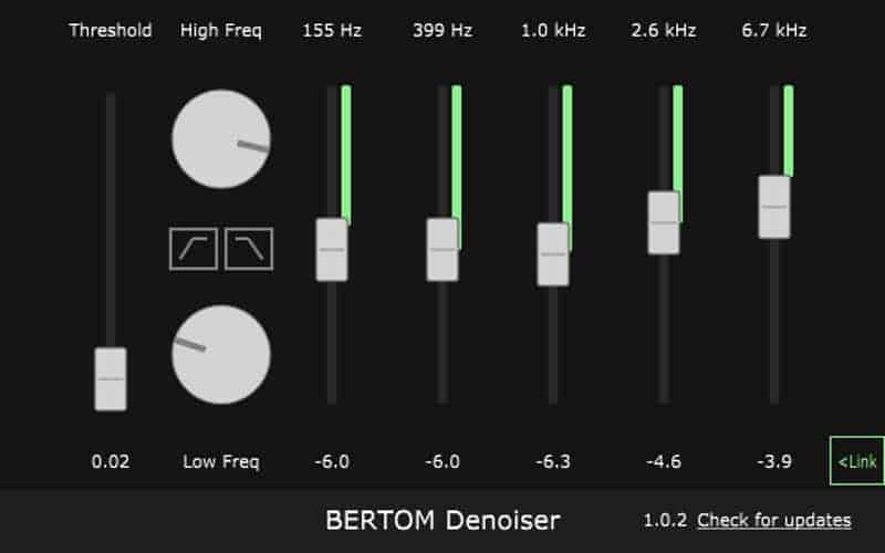 Denoiser Is A Free Noise Reduction Tool For Podcasts And Music Bedroom Producers Blog