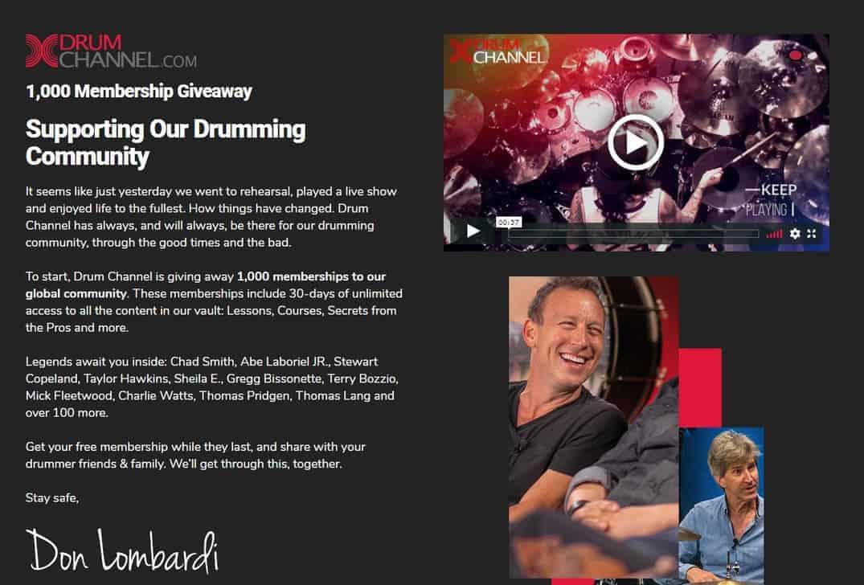 Drum Channel