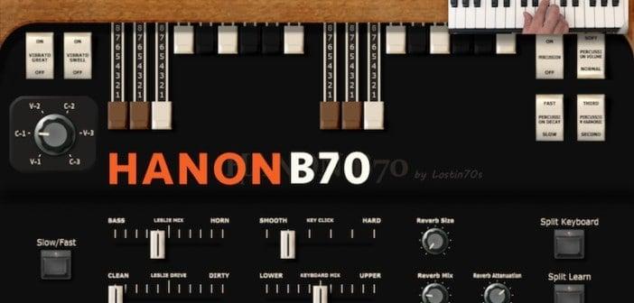 HaNon B70 Is A FREE Hammond B3 Electric Organ VST Plugin