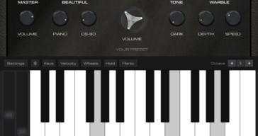Retro Piano by AudioKit