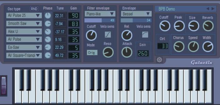 GalactiX 2.0 by SoundModeler