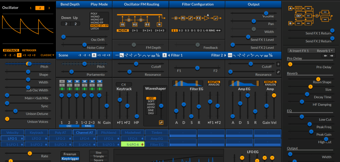 Surge Synthesizer