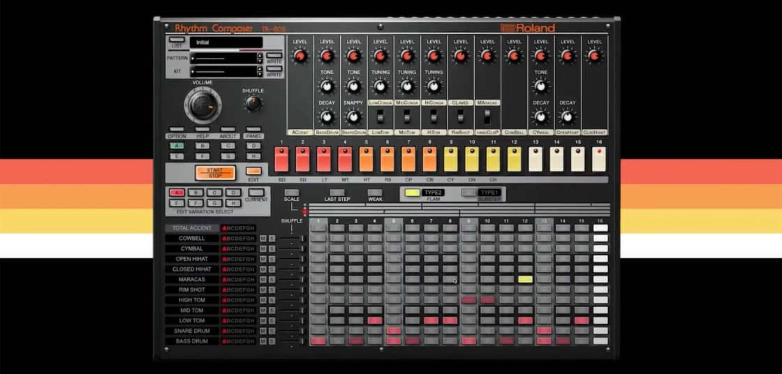 Roland's Official TR-808 Plugin Is FREE Until August 31st!