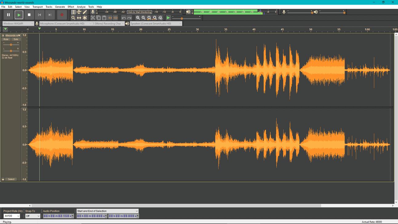 Audacity (Free Recording Software)