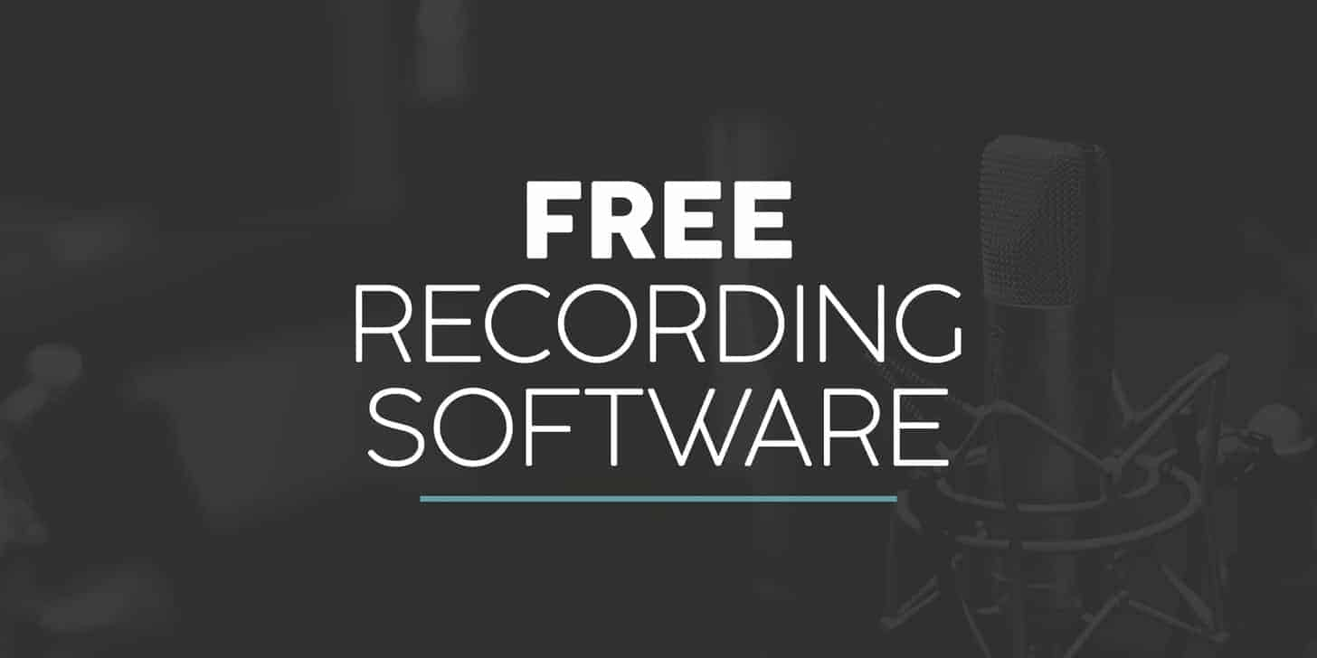 Best FREE Recording Software - Bedroom Producers Blog