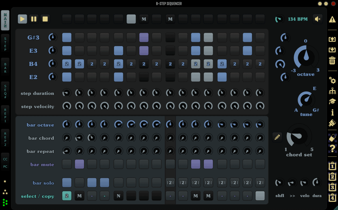 B-Step Sequencer is a sequencing powerhouse.