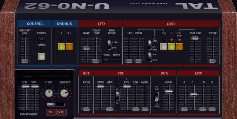 TAL-U-No-62 by Togu Audio Line