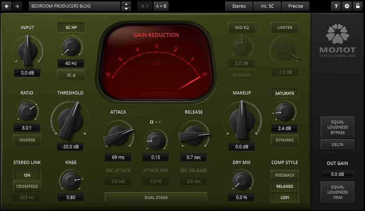TDR Molot GE is the full version of TDR Molotok.