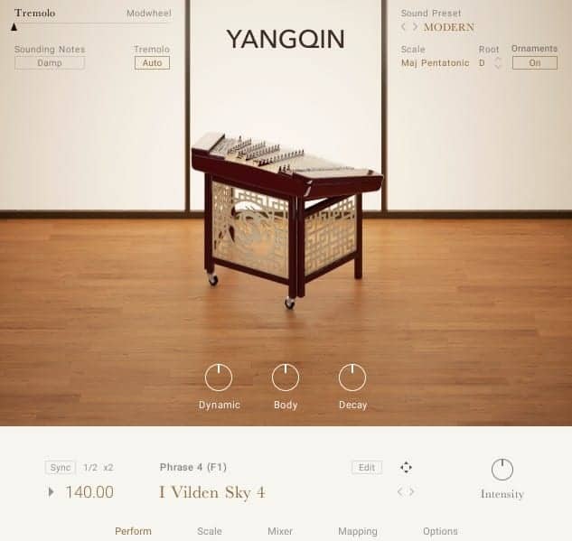 Yangqin by Native Instruments