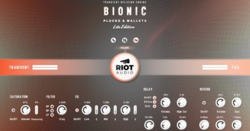 Bionic Plucks & Mallets Lite by Riot Audio