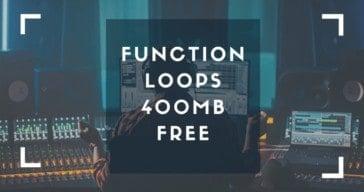 Function Loops Offers 400 MB Of FREE EDM Samples & Loops