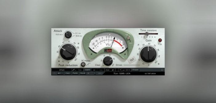 Free TLS 1295 LEA Compressor VST Plugin Goes 64-bit