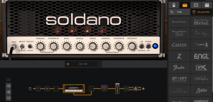 IK Multimedia Offers FREE Soldano SLO-100 For AmpliTube 5 CS