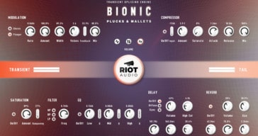 Riot Audio Bionic Plucks & Mallets Intro Sale + FREE Lite Edition