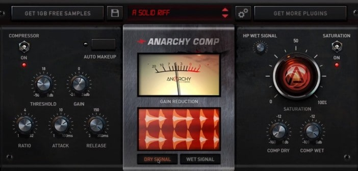 Anarchy Comp VST/AU Plugin Is FREE For A Limited Time